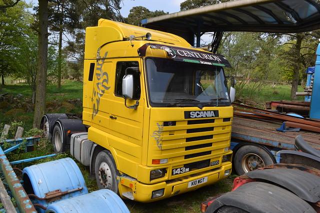 Scania 143M 500 Streamline Topline K 10 WGT.