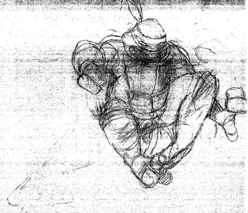 Dave Sim's CEREBUS/TURTLE Sketches iv (( 2012 )) | by tOkKa