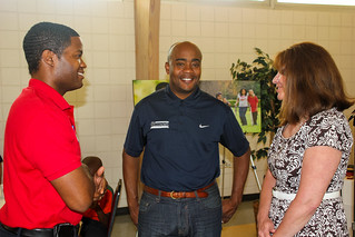 Brian Sealey, Representative Alan Williams and Deborah Moore at Guardian ad Litem Appreciation Day on May 12, 2012 in Tallahassee, Florida. | by flguardian2