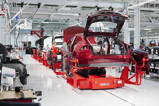 Inside Tesla 6.19.2012 - Assembly Center | by Tesla Motors Events