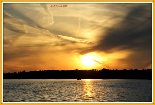 trees sunset sun lake nature wisconsin clouds canon silhouettes lakeside boating foxlake picmonkey:app=editor