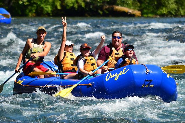 McKenzie River Rafting Trips