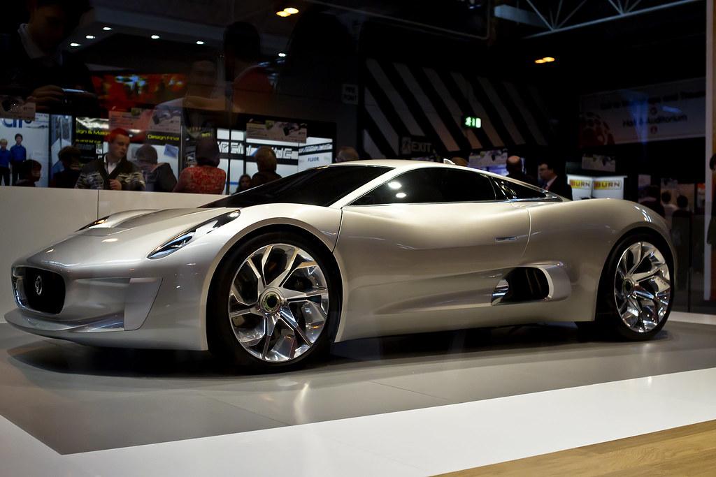Jaguar Concept Car at Big Bang Fair 2012
