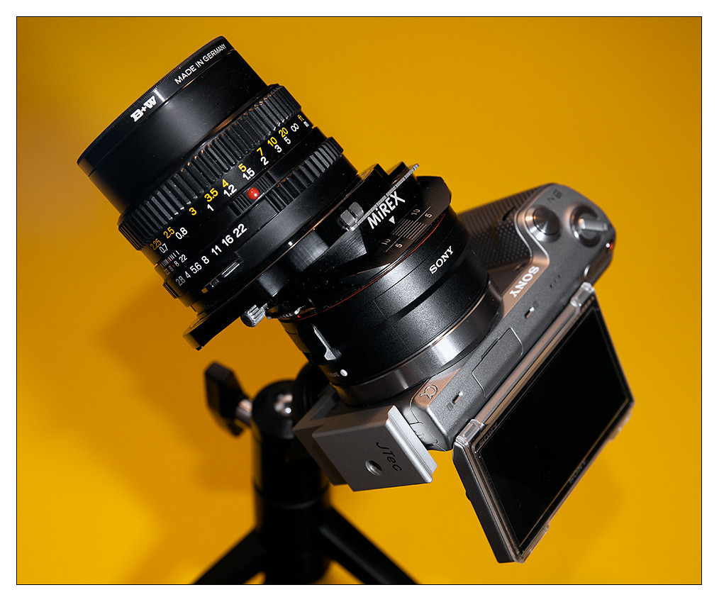NEX-5N + LA-EA1 + Mirex T/S adapter + Mamiya 80/2 8 | Flickr