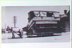 Gawler Railway Station horse tram