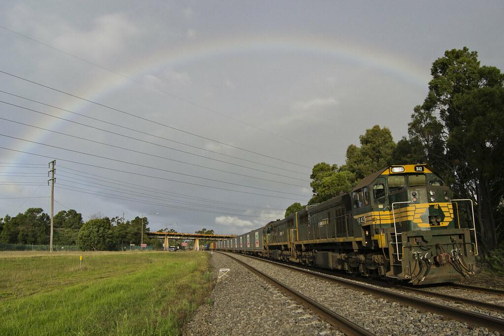 9462 Paper Train: X42-X43 4.5.2012 by Jarle