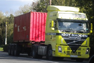 Iggy Madden - Heads West through Clonard, Co. Meath, Ireland - May 2012 - Container