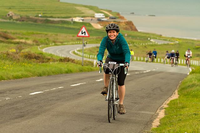 The happy cyclist - Wight Riviera Sportive