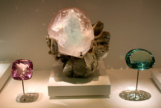 I think these are Beryl? the pink is Morganite. | by ohsarahrose