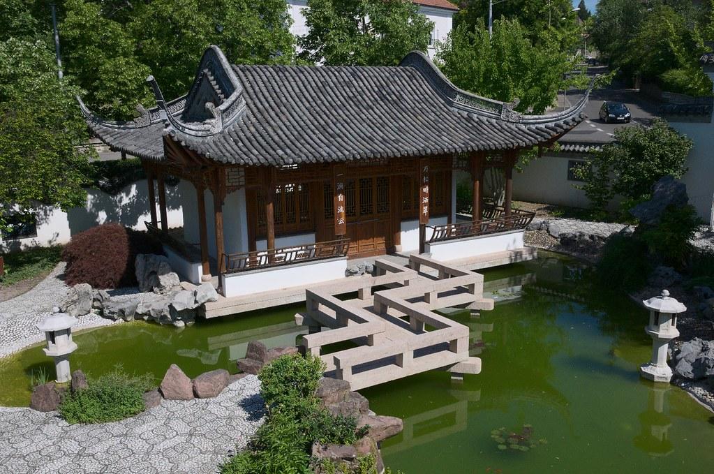 Stuttgart Germany Chinesischer Garten Chinese Garden Flickr