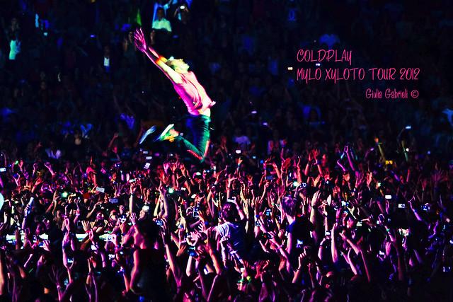 I WILL TRY TO FIX YOU ♥ (COLDPLAY, Mylo Xyloto Tour 2012, Torino)