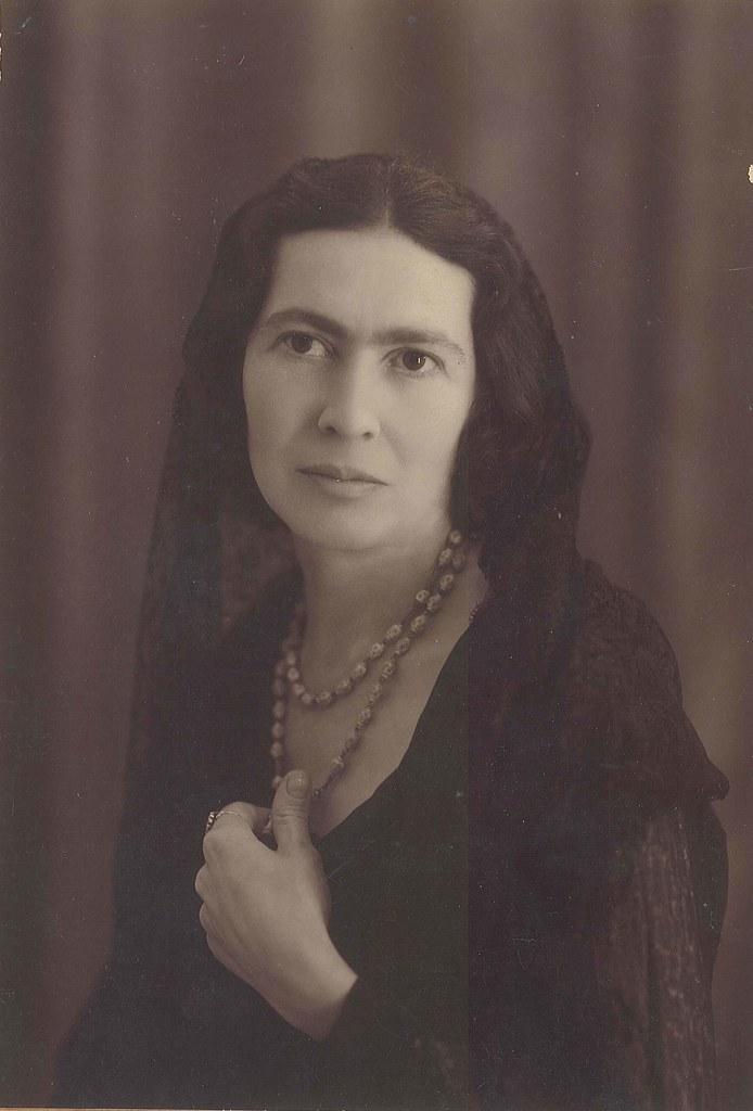Mary Garman en Toledo en 1935. Cortesía de Tess Campbell y…   Flickr