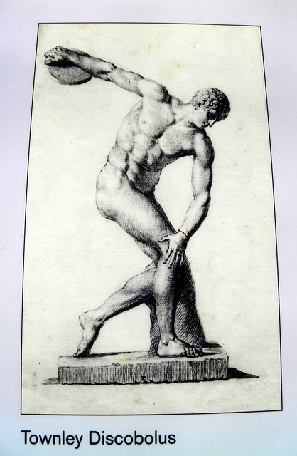 Townley Discobulus, Winning at the ancient Games, British Museum