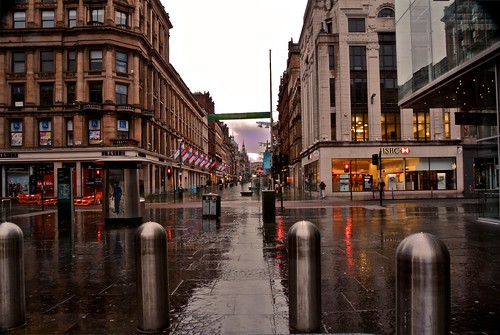 Glasgow Scotland.  At the corner of Argyle Street and Buchanan Street looking West. | by znuk