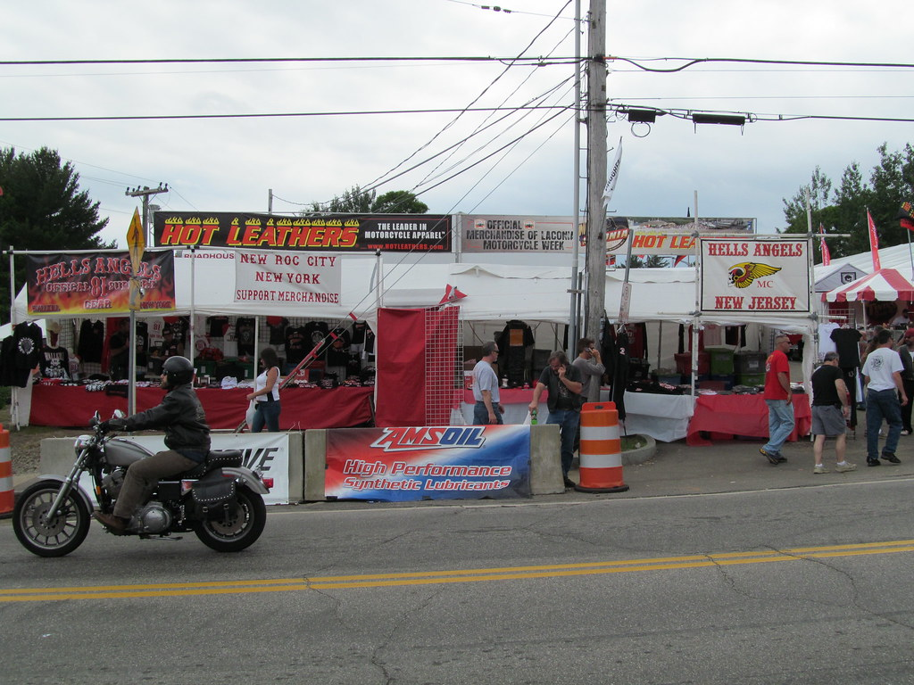 Laconia Bike Week 2012 | NY and NJ Hells Angels merchandise