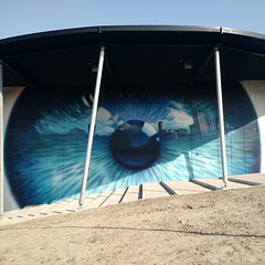 stunning mural at CineCity Vlissingen