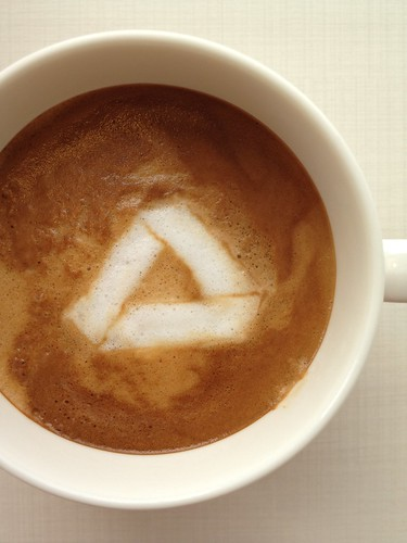 Today's latte, Google Drive. | by yukop