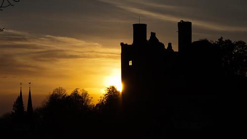Hanstein Castle at Sunset_Explored 3.5.12 # 213 | by :: Blende 22 ::