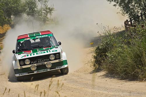 Fiat 131 Abarth - Tuscan Rewind 2012 | Fulvio Bogani | Flickr