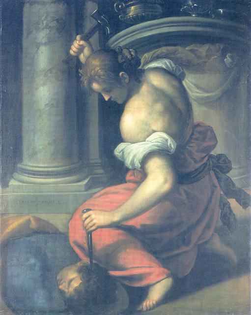 Palma il Giovane - Jael slays Sisera