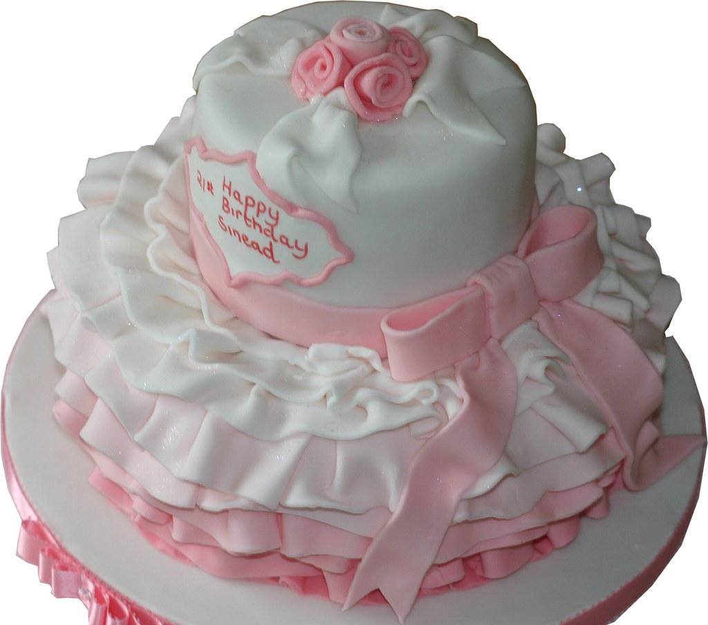 Fantastic Novelty Tutu Birthday Cake Kim Ames Flickr Personalised Birthday Cards Akebfashionlily Jamesorg