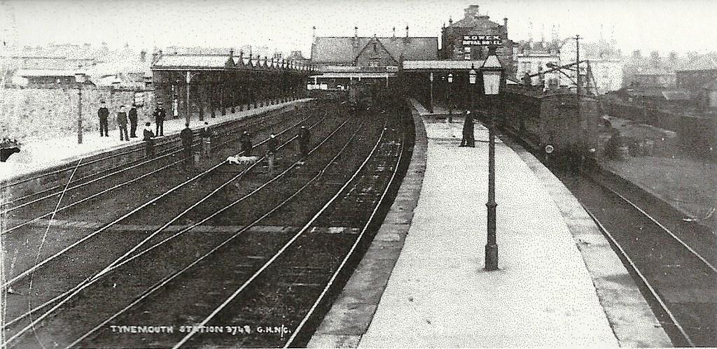 7 North Eastern Railway. Tynemouth Railway Station Photo Newcastle Line