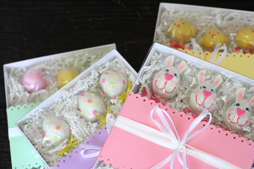 Easter Cake Pops Gift Boxes | by Sweet Lauren Cakes
