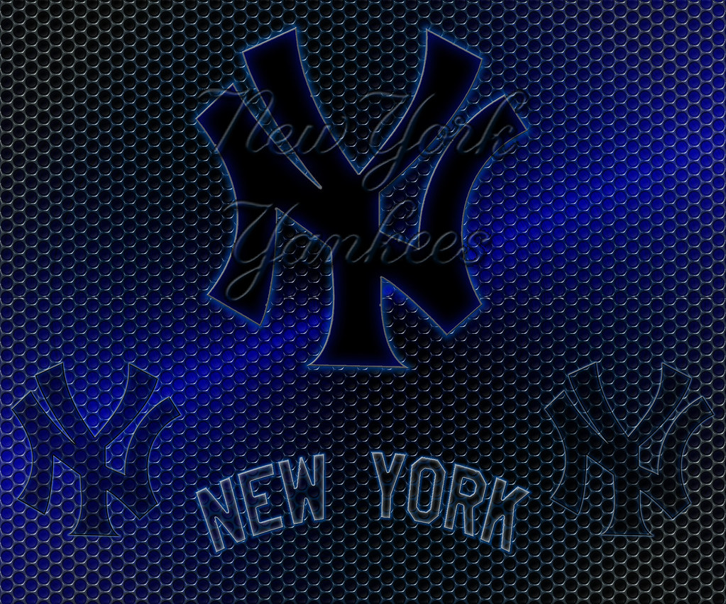 New York Yankees Logo Grid Android Wallpaper New York Yank Flickr