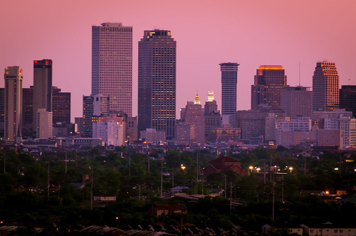 new orleans skyline | by Billy Metcalf Photography