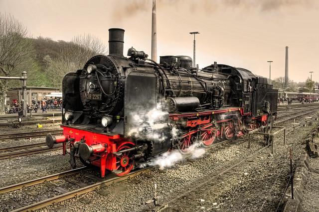Bochum - Eisenbahnmuseum Dahlhausen Preußische P 8 38 2267 Baujahr 1918 05