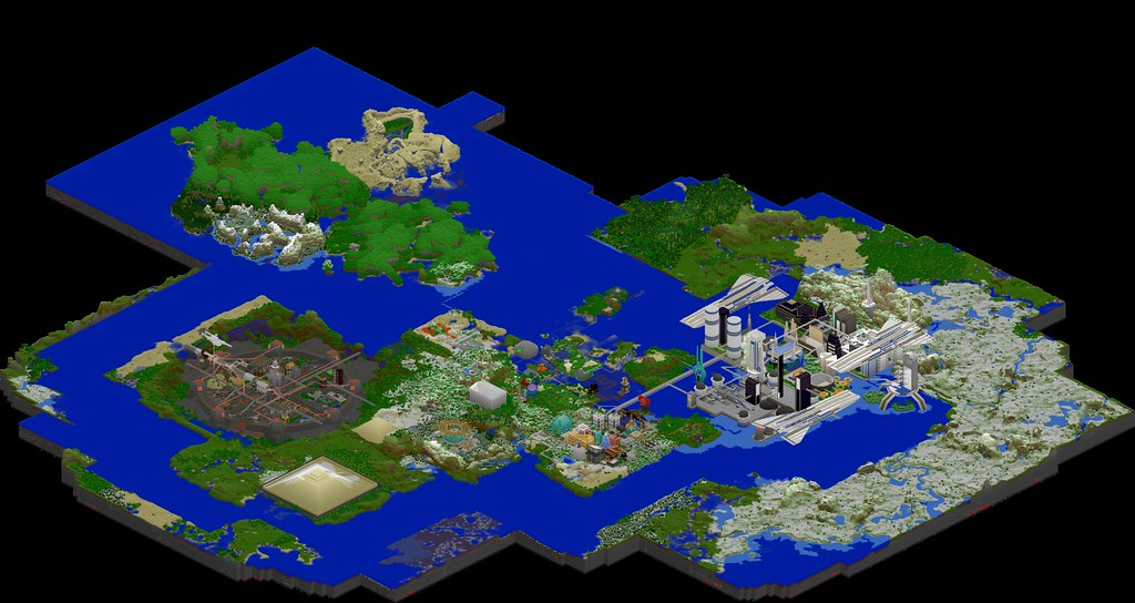My Minecraft Server 4/11/12 | Other then Eldaria Island most