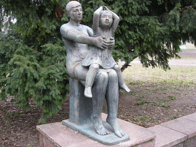 1963 Berlin-O. Geschwister von Christa Sammler Bronze Volkspark am Weinbergsweg Veteranenstraße/Brunnenstraße in 10119 Mitte