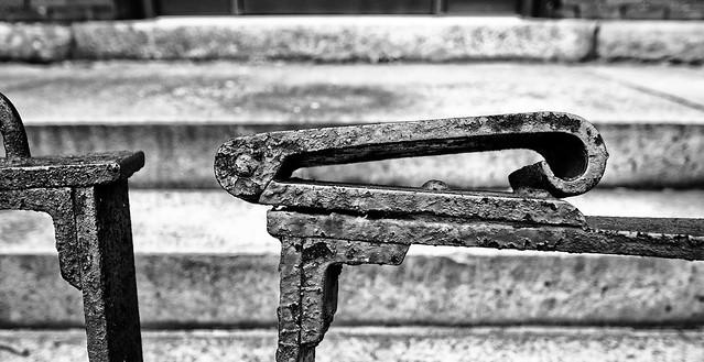 Wrought Iron Gate-Detail