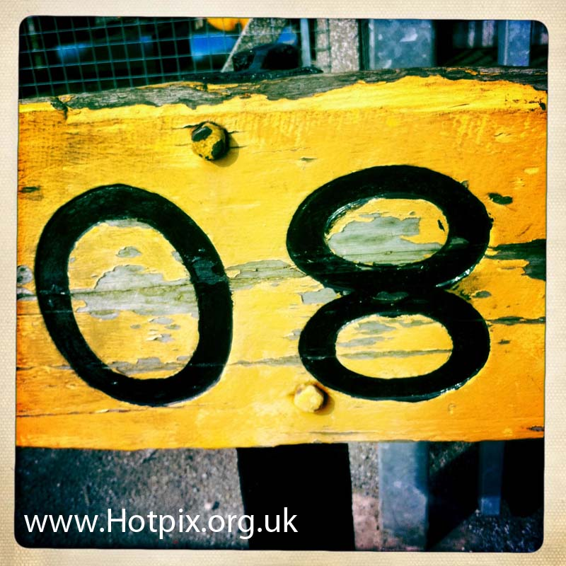 8,eight,number8,numbereight,tony,smith,tonysmith,hotpix,tonysmithhotpix,thelwall,lane,thelwalllane,latchford,locks,lock,manchester,ship,canal,sign,square,hipstamatic,uk,england,cheshire,iphone,yellow,black