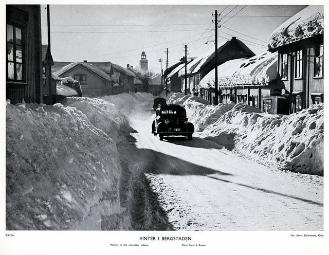 Winter In Roros, Norway