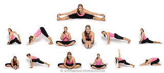 yoga poses  some of tracy's yoga poses for her fitness