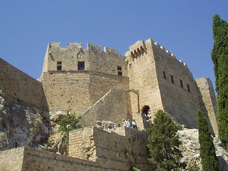 Castello di Lindos, Rodi, Grecia