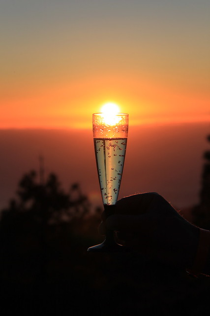 sunset bubbels - Tenerife