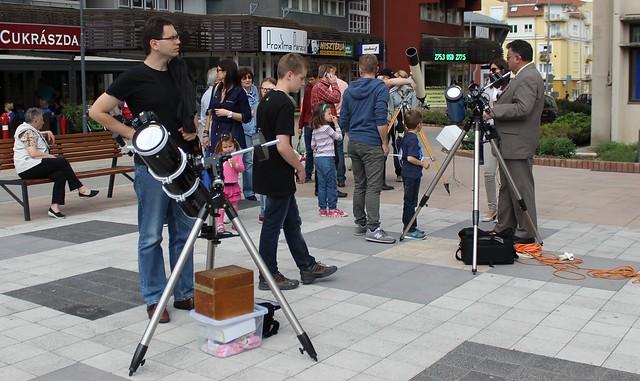 VCSE - Merkúr átvonulás bemutató 2016 május