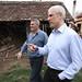 Boris Tadić u poseti porodici Grčić u Jabučju kod Lajkovca
