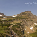 Clements Mountain and Mt. Oberlin with Going to the Sun Road