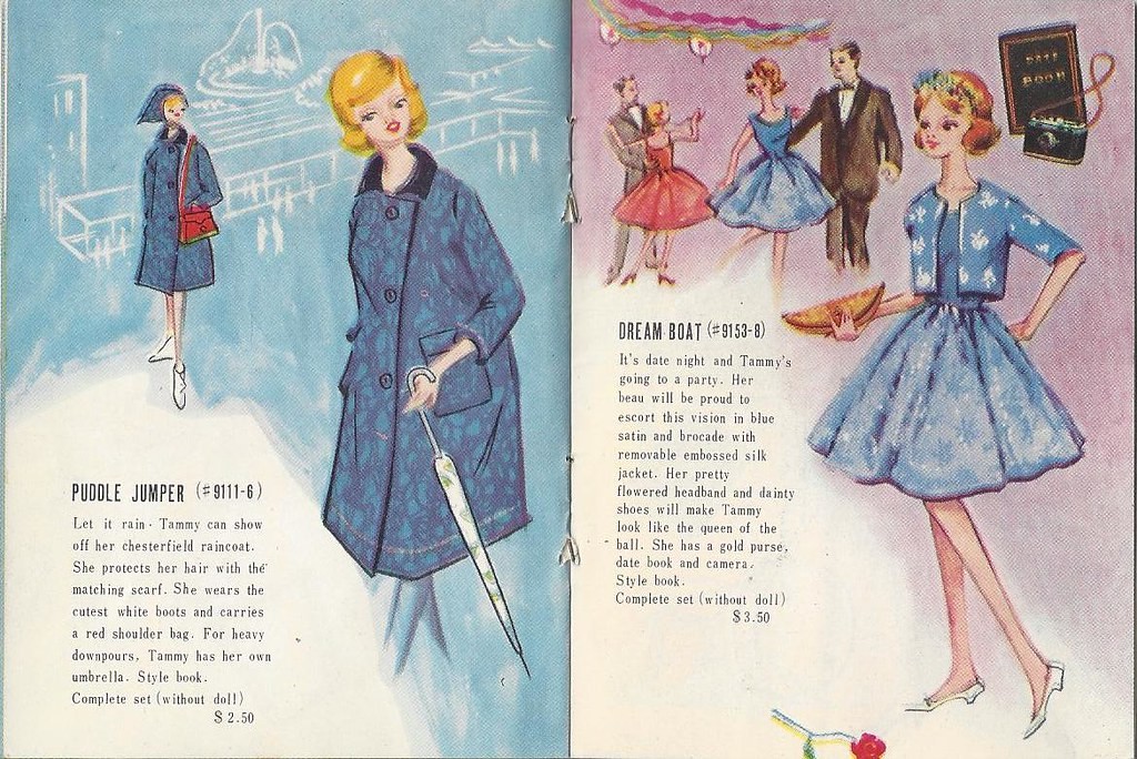 The doll you love to dress Ideal Fashion Booklet Complete Tammy