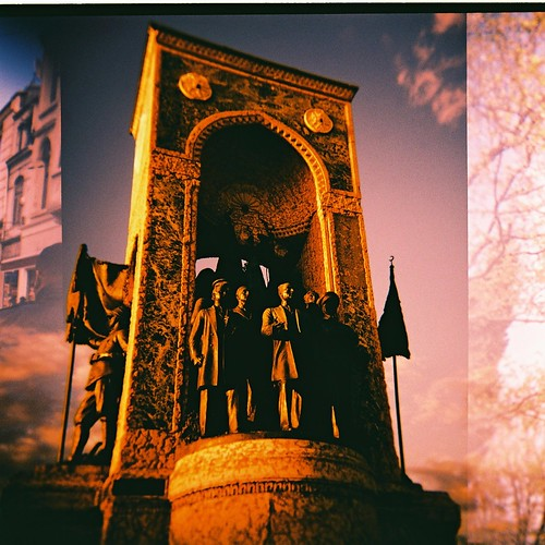 Monument on Taksim Square | by Rabea G