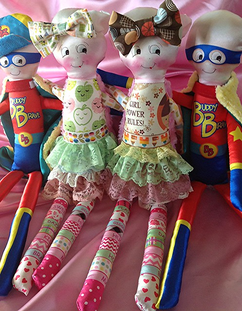 Dolls for children with cancer, Forever Friends!