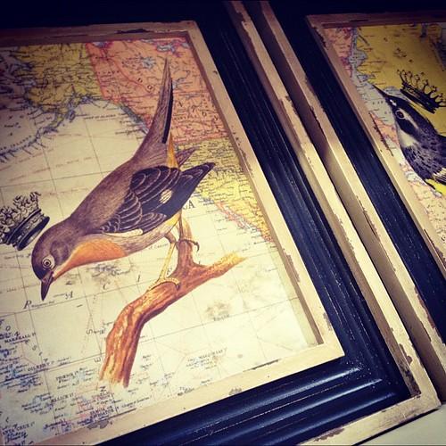 Crowned bird prints | by Paris on Ponce & Le Maison Rouge