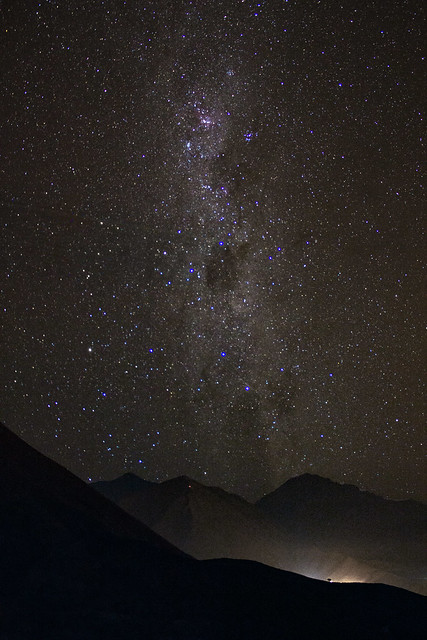 Milky Way over Vicuña, Coquimbo Region, Chile