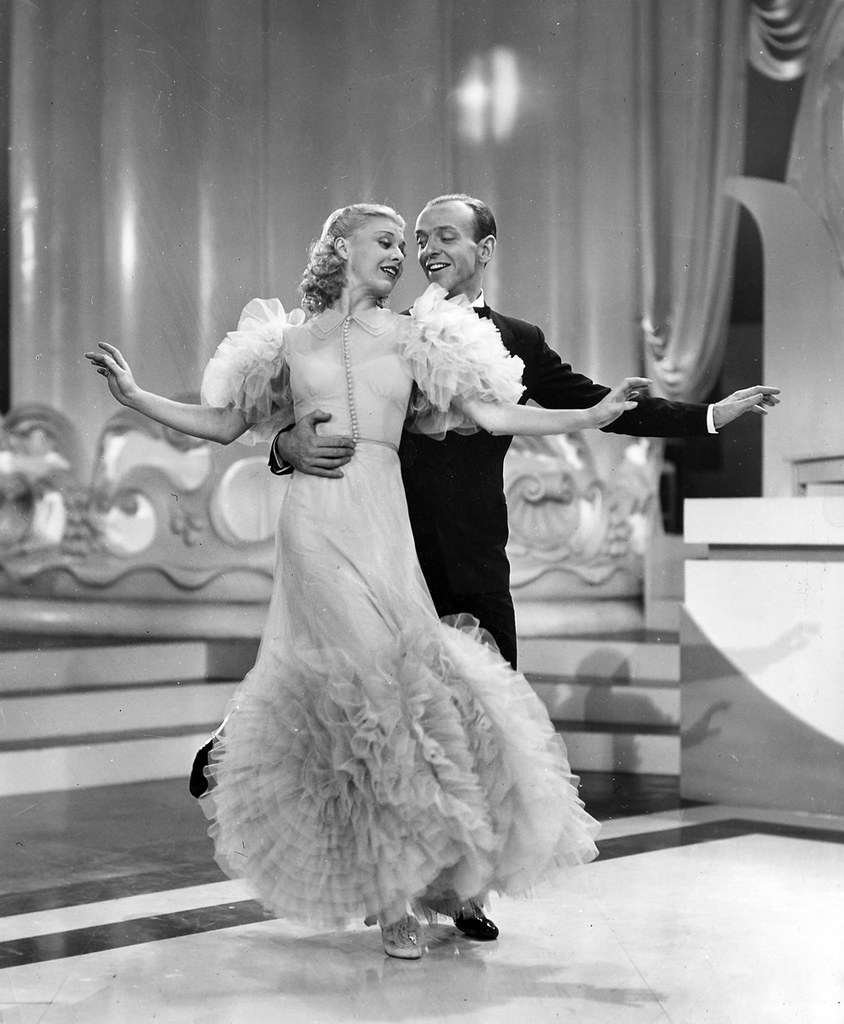 Fred Astaire In Swing Time Fred Astaire And Ginger Rogers Flickr