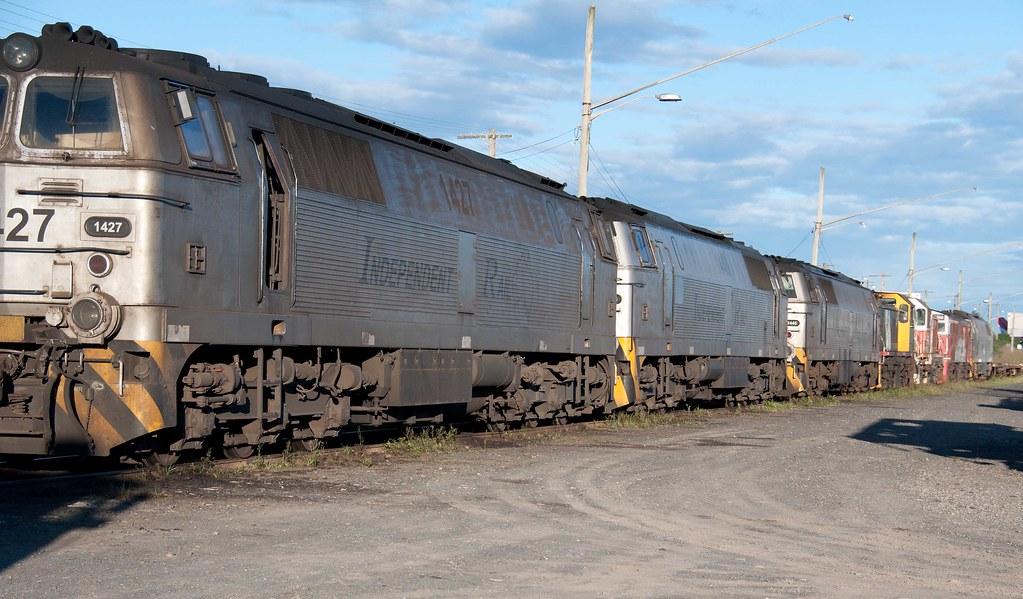 Locomotive lineup! by John Cowper