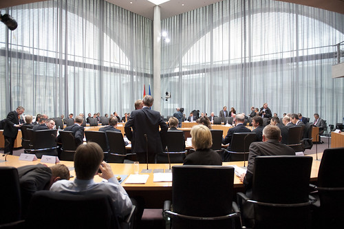 Öffentliche Anhörung des Haushaltsausschusses des Deutschen Bundestages zu ESM und Fiskalvertrag   by Mehr Demokratie e.V.