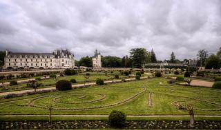 Schloss Chenonceaux - Garten der Diana von Poitiers | by Wolfgang Staudt